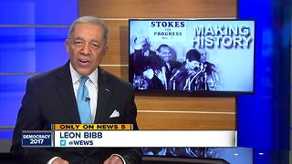 50 years since Carl Stokes made Cleveland history - Video