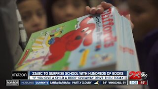 23ABC to surprise local school with hundreds of books
