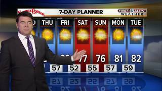 13 First Alert Las Vegas weather for Tuesday night Oct. 10 - Video
