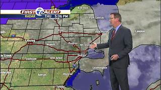 Metro Detroit Forecast: Chilly start to the weekend - Video