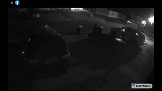 Here is video footage from the Potterville PD of the suspects looking through cars