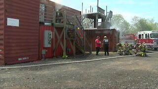 Getzville Rapid Intervention Training teaches firefighters how to rescue their own