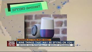 9 things in your home that may be spying on you - Video