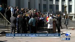 Denver launches immigration defense fund to aid people facing deportation, those facing legal issues - Video