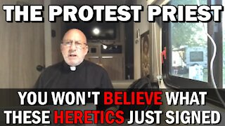 You Won't Believe What They Signed! | THE PROTEST PRIEST