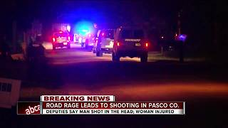 Pasco deputies investigating after man shot in face in apparent road rage incident - Video