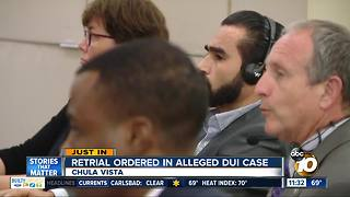 Retrial ordered in alleged DUI case - Video