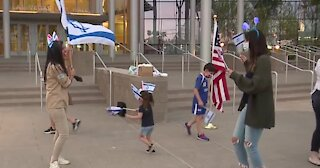 Las Vegas City Hall celebrates Israel's independence day