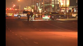Las Vegas police investigate critical crash involving pedestrian on Boulder Highway
