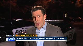 Parents kids shoplifting - Video