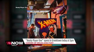'Ready Player One' bar arcade opened Friday in Greektown - Video