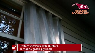 Preparing your home before a storm   Tracking the Tropics Quick Tip