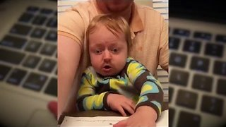 Tax Consultant Does Baby Face-Swap - Video