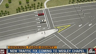 New traffic fix coming to Wesley Chapel - Video