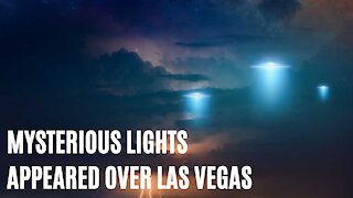 Mysterious Strange Lights Appeared Over Las Vegas Skies Last Night