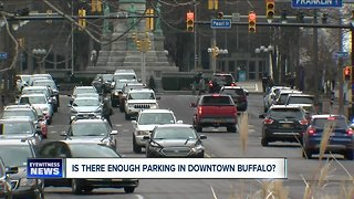 Is there enough parking in downtown Buffalo?