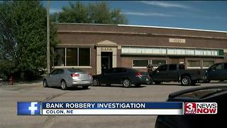 Saunders County bank robbery investigation continues - Video