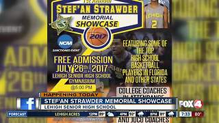 Memorial Basketball Showcase for Club Blu victim Stef'an Strawder - Video