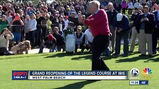 Grand Reopening of The Legend Course at Ibis - Video