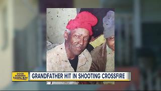 80-year-old man caught in shooting crossfire in St. Pete - Video