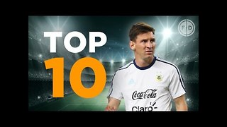 Top 10 Argentina Goalscorers - Video