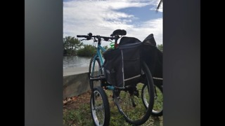 Community rallies to find woman's stolen bike - Video
