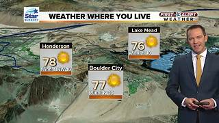 13 First Alert Las Vegas Weather March 28 Morning - Video