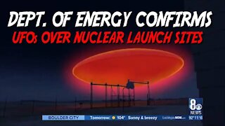 Dept. of Energy Confirms UFOs Over Nuclear Launch Sites!