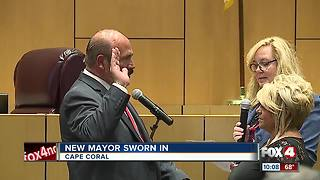 New Cape mayor sworn in - Video