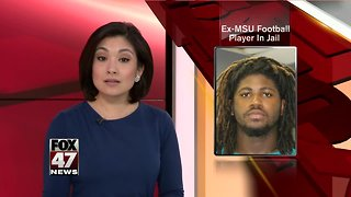 Former MSU player accused of rape back in Mid-Michigan jail