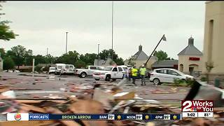 One-year tornado anniversary, some buildings still not rebuilt