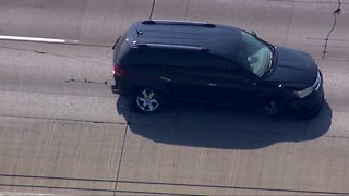 Chase and standoff with suicidal gunman ends peacefully on I-75 in Monroe County - Video