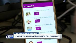 Startup tech company moves from Cali to Buffalo - Video