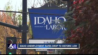 Idaho unemployment drops to historic low, worker shortage in construction and skilled labor - Video