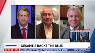 DeSantis Backs the Blue