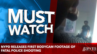 NYPD releases first bodycam footage of fatal police shooting - Video