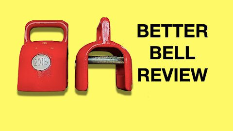 BetterBell review: Multi function bell (kettlebell + dumbbell + more)