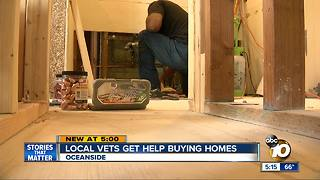 Local Vets Get Help Buying Homes - Video