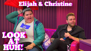 ELIJAH DANIEL & CHRISTINE SYDELKO on LOOK AT HUH! - Video