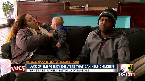 In bad weather, homeless families fall through cracks