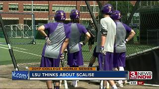 LSU preps for College World Series; Rep. Scalise on their minds - Video