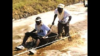 Kenyan Wheelbarrow Race - Video