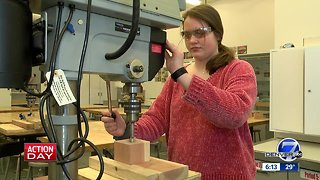Eighth graders in Littleton learn how to build a business while giving back