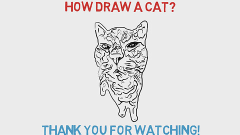 How Draw A Cat