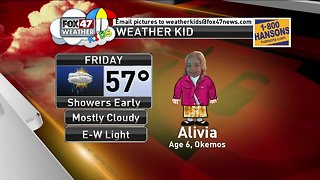 Weather Kid - Alivia - 4/5/19