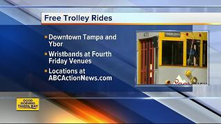 Fourth Friday free trolley rides - Video