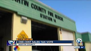 Martin County could raise sales tax - Video