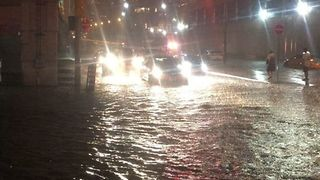 Roads Turn to Rivers in Toronto - Video