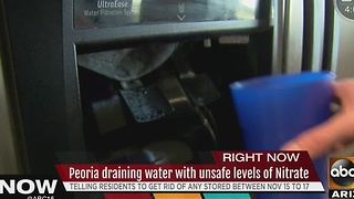 Peoria residents dealing with water issue - Video