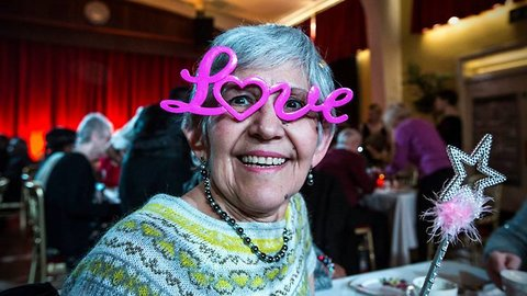One foot in the rave: Pensioner-only nightclub battles loneliness among the elderly with tea party raves
